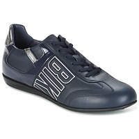 Zapatos Hombre Zapatillas bajas Bikkembergs R-EVOLUTION 186 LEATHER Azul