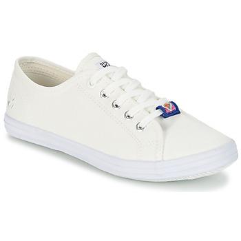 Zapatos Mujer Zapatillas bajas Banana Moon RAYA Blanco