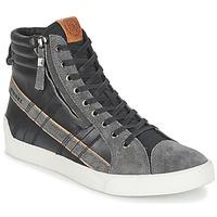 Zapatos Hombre Zapatillas altas Diesel D-STRING PLUS Negro / Gris
