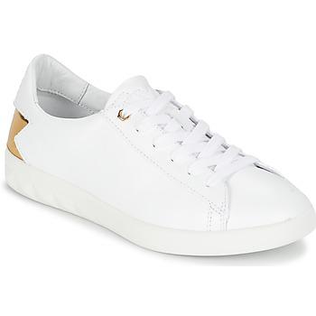 Zapatos Mujer Zapatillas bajas Diesel S-OLSTICE LOW W Blanco / Oro