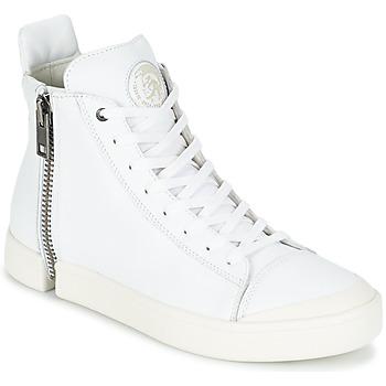 Zapatos Hombre Zapatillas altas Diesel S-NENTISH Blanco