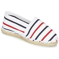 Zapatos Alpargatas 1789 Cala CLASSIQUE Blanco / Azul / Rojo