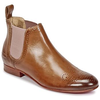 Zapatos Mujer Botas de caña baja Melvin & Hamilton SALLY 16 Camel