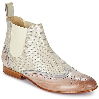 Zapatos Mujer Botas de caña baja Melvin & Hamilton SALLY 19 Blanco