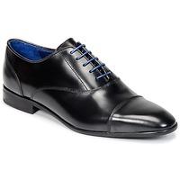 Zapatos Hombre Derbie Azzaro RAEL Negro