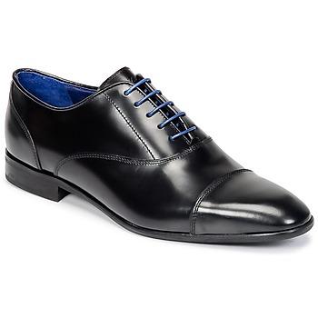Zapatos Hombre Richelieu Azzaro RAEL Negro