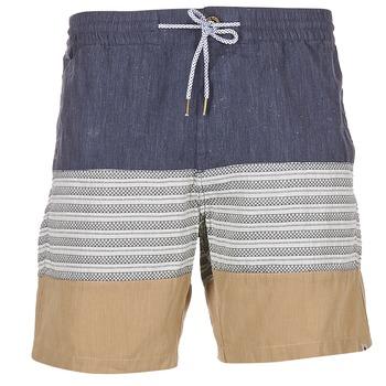 textil Hombre Shorts / Bermudas Volcom THREEZY JAMMER Marino / Beige / Gris