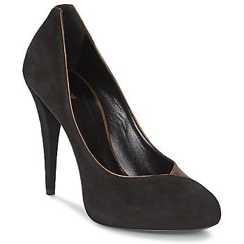 Zapatos Mujer Zapatos de tacón Roberto Cavalli YPS530-PC219-D0127 Negro / Mordore