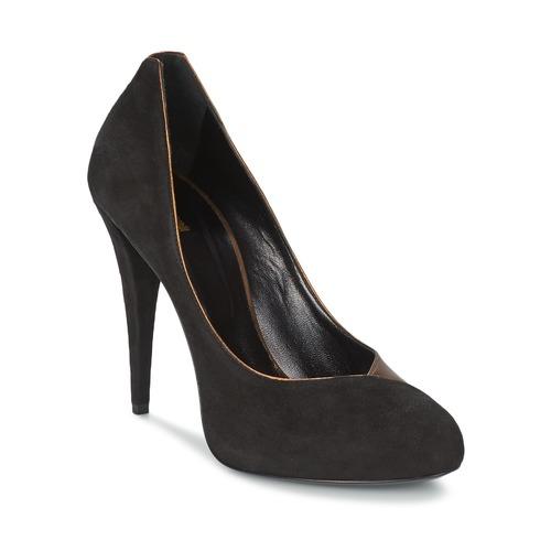 Cómodo y bien parecido Zapatos especiales Roberto Cavalli YPS530-PC219-D0127 Negro / Mordore