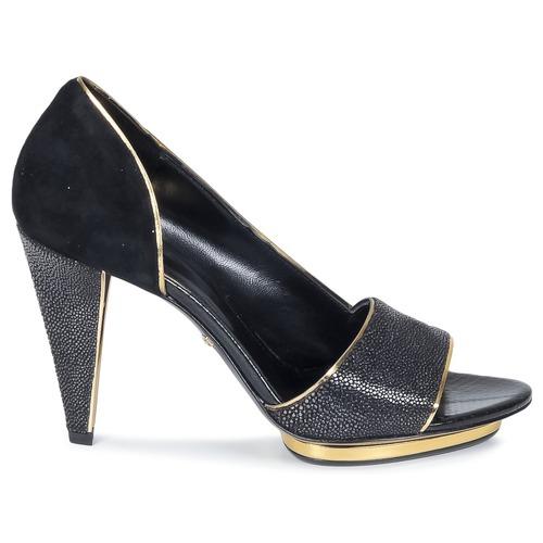 Gran descuento Zapatos especiales Roberto Cavalli YDS637-UF013-05051 Negro
