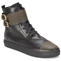 Zapatos Mujer Zapatillas altas Kennel + Schmenger URZI Negro / DORADO