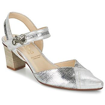 Zapatos Mujer Zapatos de tacón Dorking DELTA Plateado
