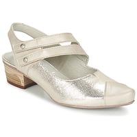 Zapatos Mujer Zapatos de tacón Dorking MENET Plateado / Gris