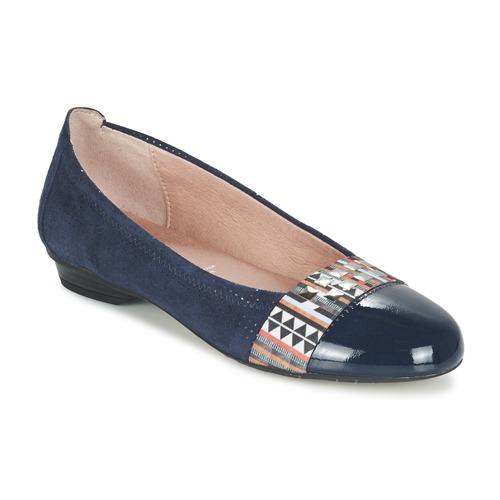 Zapatos Mujer Bailarinas-manoletinas Dorking TELMA Marino