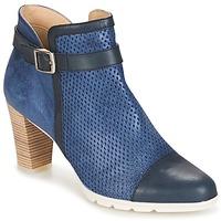 Zapatos Mujer Botines Dorking RUBIS Marino
