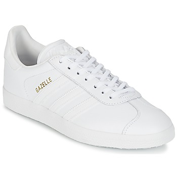 Zapatos Zapatillas bajas adidas Originals GAZELLE Blanco