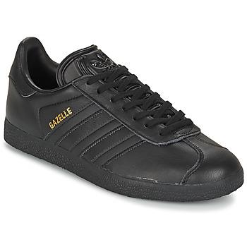 Zapatos Zapatillas bajas adidas Originals GAZELLE Negro