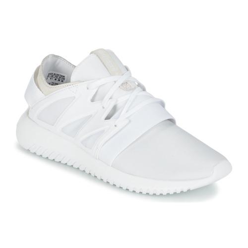Zapatos Mujer Zapatillas altas adidas Originals TUBULAR VIRAL W Blanco
