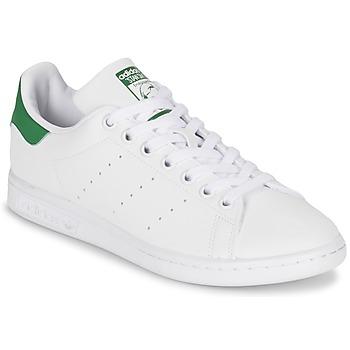 Zapatos Mujer Zapatillas bajas adidas Originals STAN SMITH W Blanco