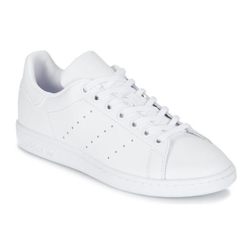adidas Originals STAN SMITH J Blanco - Zapatos Deportivas bajas Nino