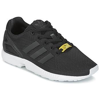 Zapatos Niños Zapatillas bajas adidas Originals ZX FLUX J Negro