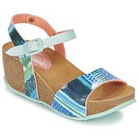 Zapatos Mujer Sandalias Desigual BIO 7 BLUE AQUARELLA Azul