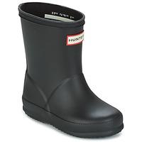 Zapatos Niños Botas de agua Hunter KIDS FIRST CLASSIC Negro