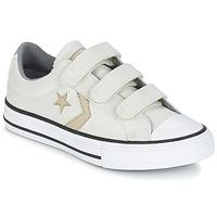 Zapatos Niño Zapatillas bajas Converse STAR PLAYER 3V TEXTILE OX CRUDO / Kaki