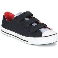 Zapatos Niño Zapatillas bajas Converse CHUCK TAYLOR ALL STAR 3V SPRING FUNDAMENTALS OX Negro / Azul / Blanco