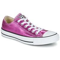 Zapatos Mujer Zapatillas bajas Converse CHUCK TAYLOR ALL STAR SEASONAL METALLICS OX Rosa / Metalizado