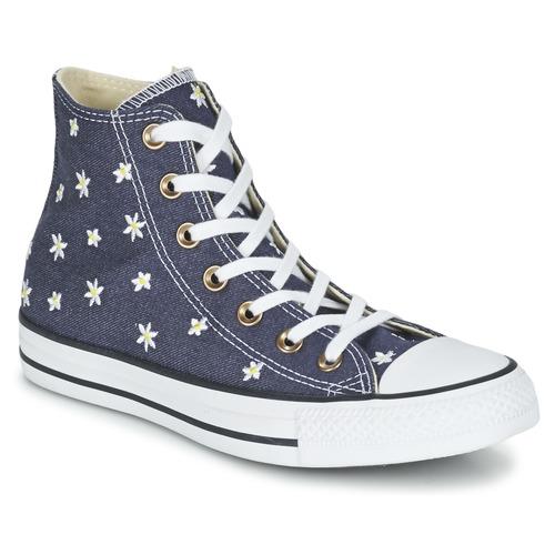 Converse - CHUCK TAYLOR ALL STAR DENIM FLORAL HI