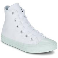 Zapatos Niña Zapatillas altas Converse CHUCK TAYLOR ALL STAR II PASTEL SEASONAL TD HI Blanco / Azul / Celeste