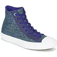 Zapatos Hombre Zapatillas altas Converse CHUCK TAYLOR ALL STAR II OPEN KNIT HI Azul