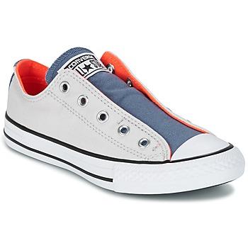 Zapatos Niños Zapatillas bajas Converse CHUCK TAYLOR ALL STAR SLIP SUMMER FUNDAMENTALS SLIP Gris / Azul / Naranja