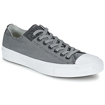Zapatos Zapatillas bajas Converse CHUCK TAYLOR ALL STAR II BASKETWEAVE FUSE OX Gris / Blanco