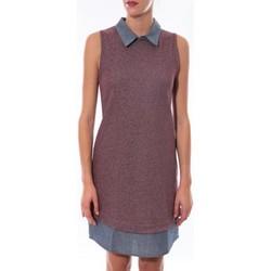 textil Mujer Vestidos cortos Coquelicot Robe  Bordeaux 16204 Violeta