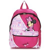 Bolsos Niña Mochila Disney MINNIE SCRATCH DOTS SAC A DOS BORNE Rosa