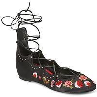 Zapatos Mujer Bailarinas-manoletinas Ash INDRA Negro