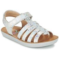 Zapatos Niña Sandalias Shoo Pom GOA SPART Plata