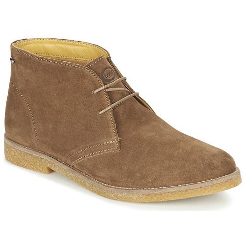 Zapatos Hombre Botas de caña baja Base London CHARLTON Marrón