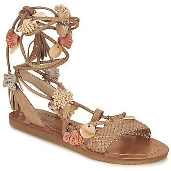 Zapatos Mujer Sandalias Elue par nous ZECTEUR Marrón