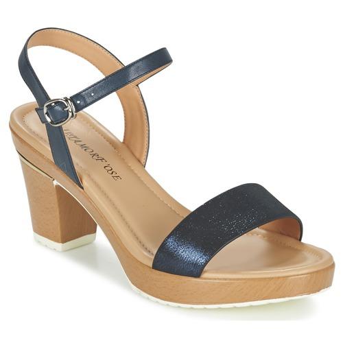 Zapatos Mujer Sandalias Metamorf'Ose ZACQUESTE Azul / Marrón