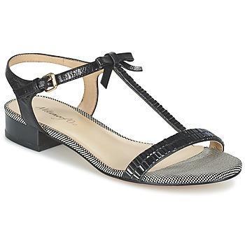 Zapatos Mujer Sandalias Metamorf'Ose ZAFOIN Negro