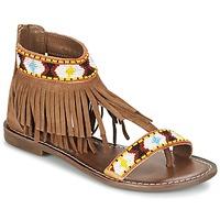 Zapatos Mujer Sandalias Metamorf'Ose ZACCIN Marrón