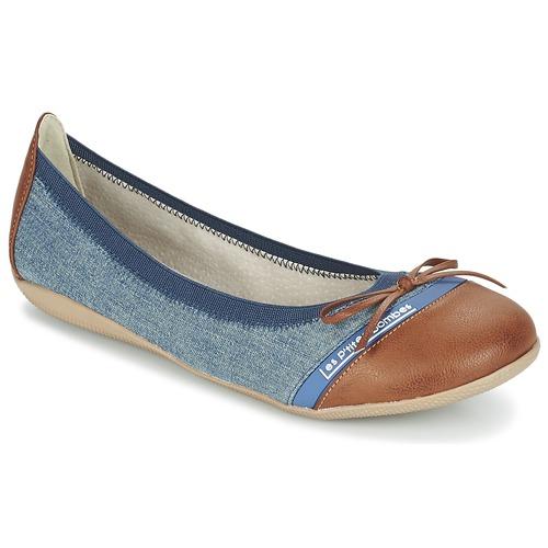 Zapatos Mujer Bailarinas-manoletinas Les P'tites Bombes CAPRICE Azul / Camel
