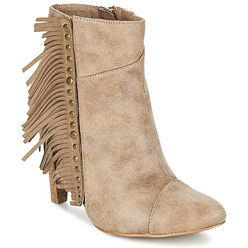 Zapatos Mujer Botines Les P'tites Bombes CECILIA Beige