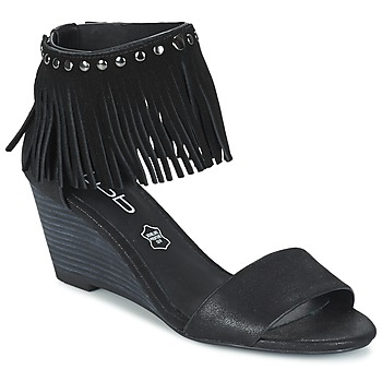 Zapatos Mujer Sandalias Les P'tites Bombes NADIA Negro