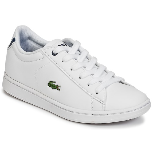 Zapatos Niños Zapatillas bajas Lacoste CARNABY EVO BL 1 Blanco