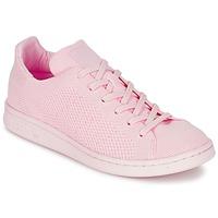 Zapatos Mujer Zapatillas bajas adidas Originals STAN SMITH PK Rosa