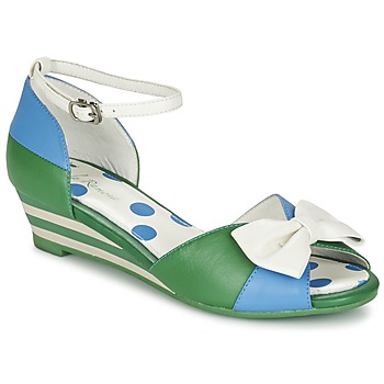 Zapatos Mujer Sandalias Lola Ramona LENNIE Azul / Verde